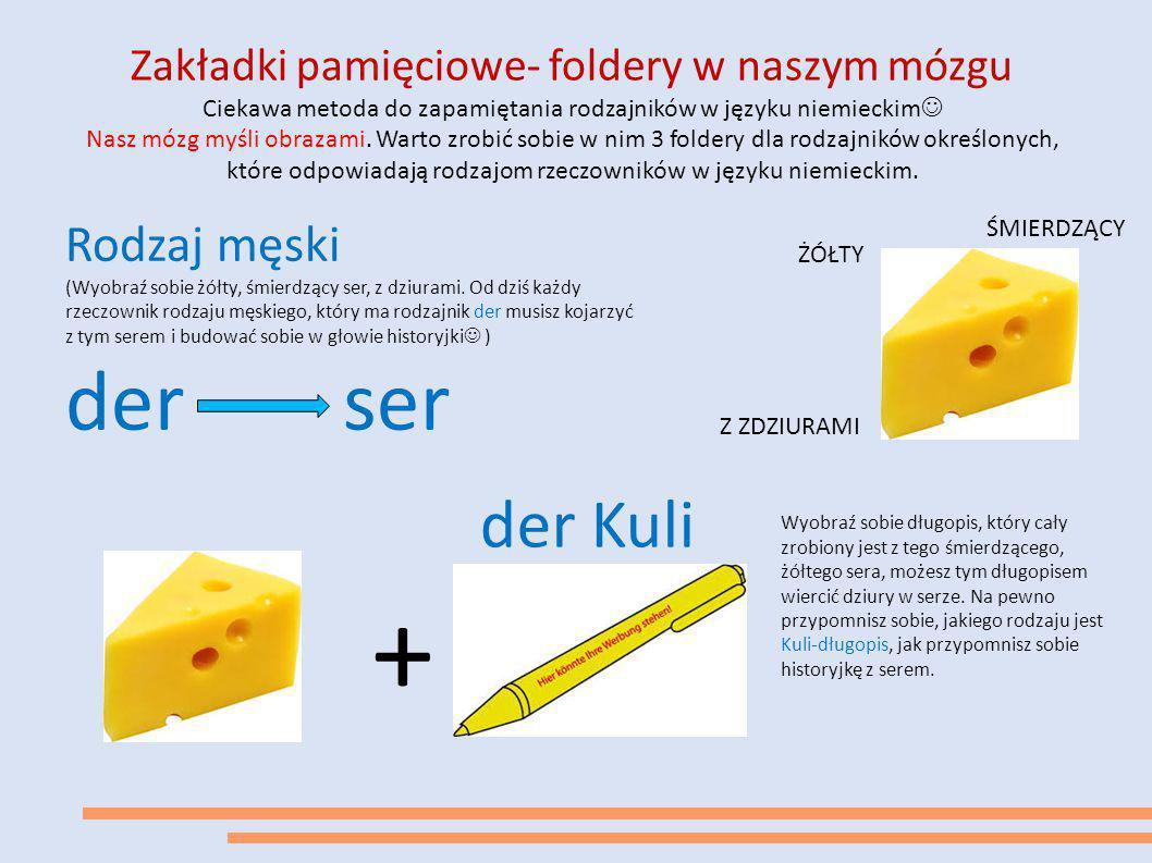 Zakładki pamięciowe- foldery w naszym mózgu Ciekawa metoda do zapamiętania rodzajników w języku niemieckim Nasz mózg myśli obrazami. Warto zrobić sobi