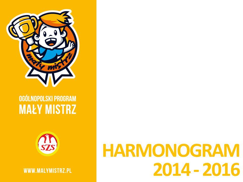 2014 - 2016 HARMONOGRAM