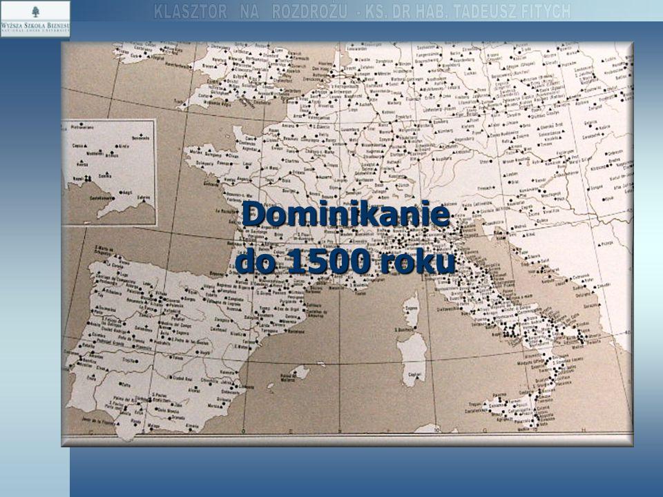 Dominikanie do 1500 roku