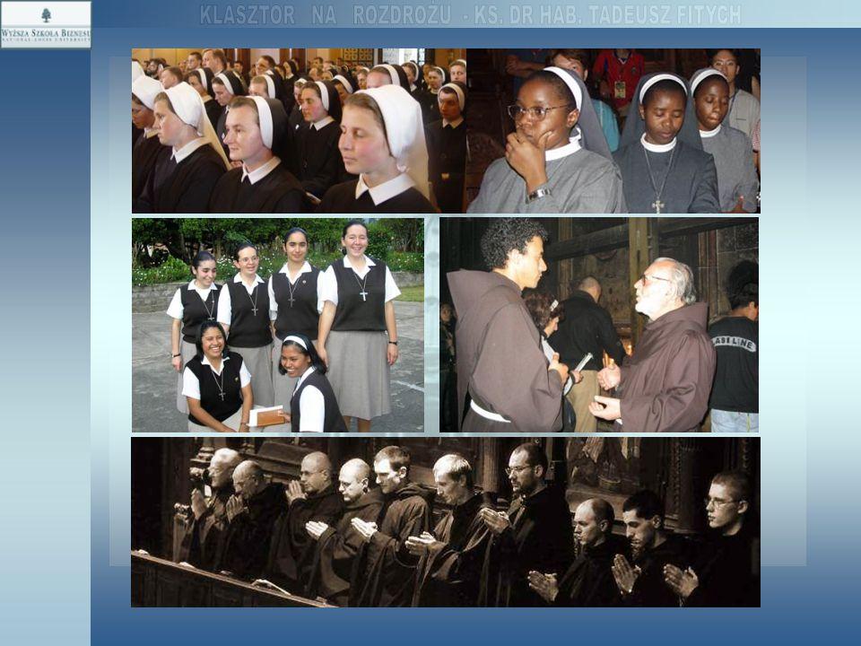 B) Konkretny charyzmat stanowi kategorię nadrzędną również i dla konkretnych przestrzeni związanych z liturgią, pracą, studiami i mieszkaniem zakonników.