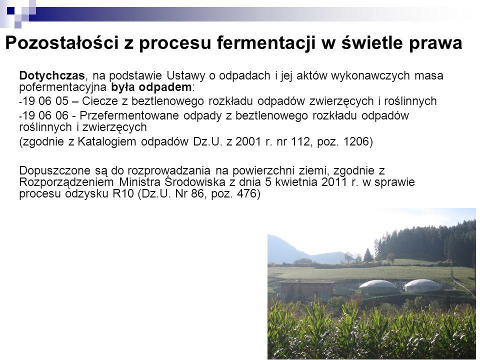 Skład frakcji płynnej pofermentu z biogazowni w Uhninie (gm.