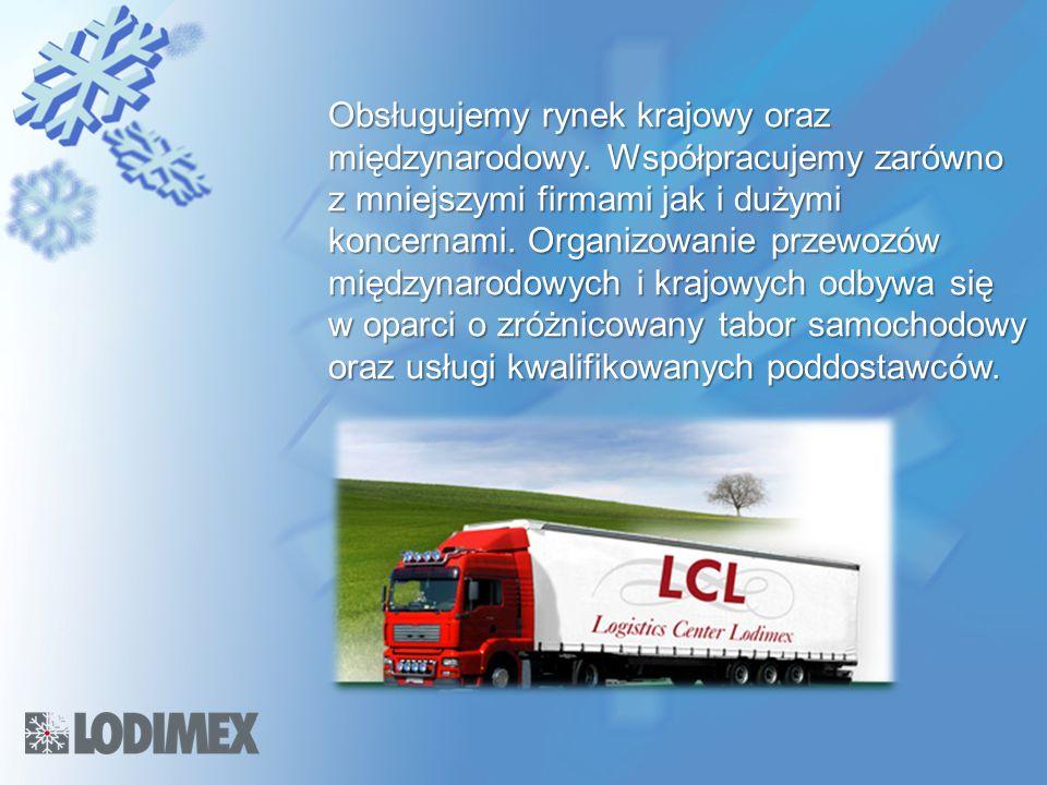 Obsługujemy rynek krajowy oraz międzynarodowy. Współpracujemy zarówno z mniejszymi firmami jak i dużymi koncernami. Organizowanie przewozów międzynaro