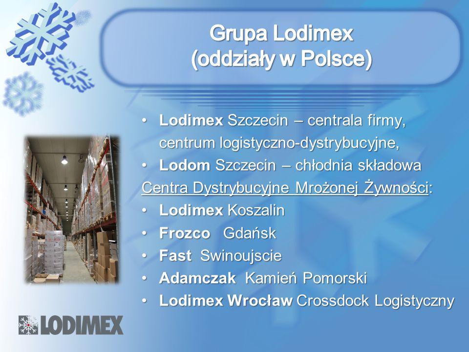 Lodimex Szczecin – centrala firmy,Lodimex Szczecin – centrala firmy, centrum logistyczno-dystrybucyjne, Lodom Szczecin – chłodnia składowaLodom Szczec