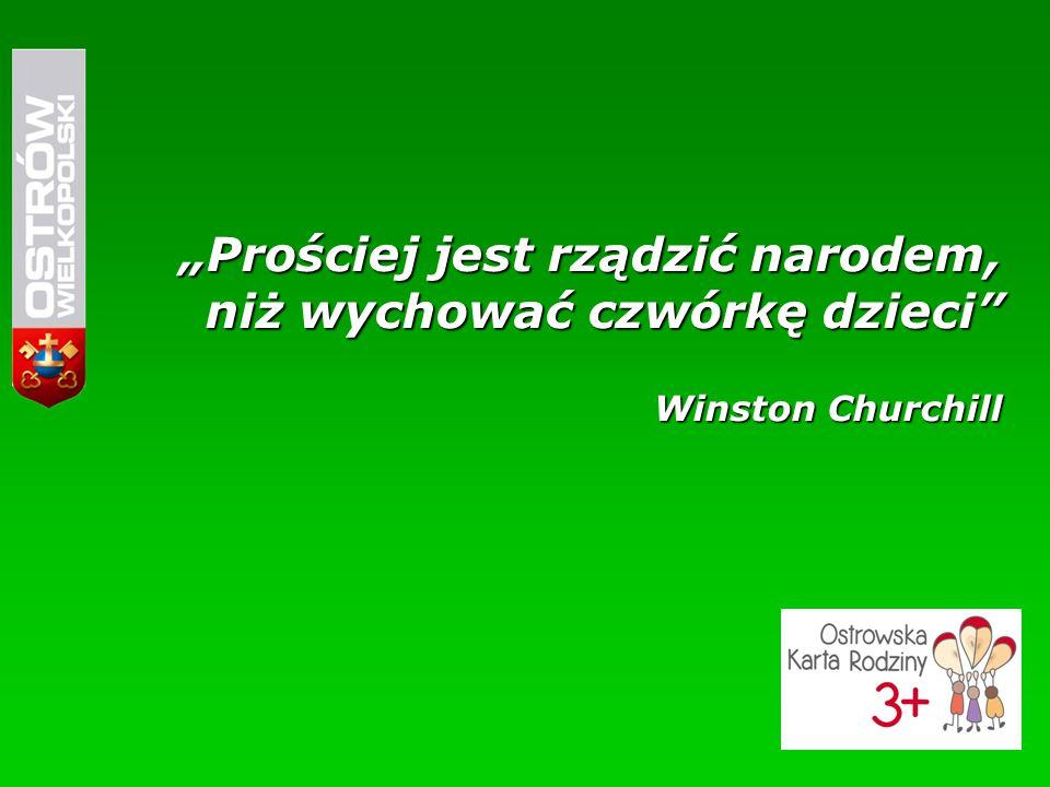 """""""Prościej jest rządzić narodem, niż wychować czwórkę dzieci Winston Churchill"""