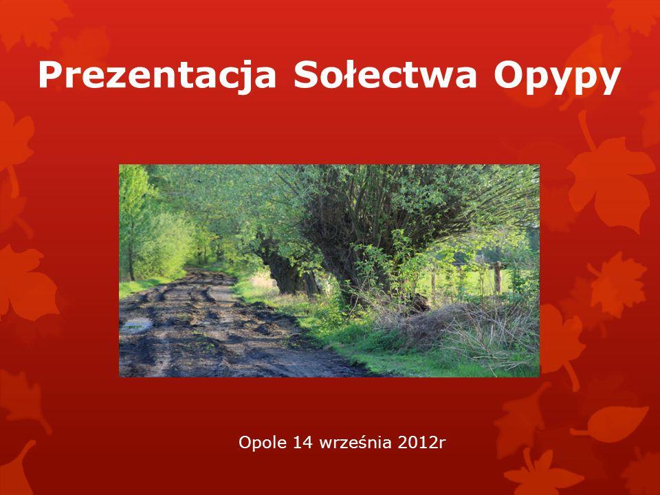 Prezentacja Sołectwa Opypy Opole 14 września 2012r