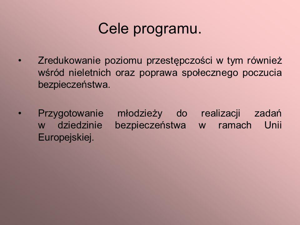 Cele programu.