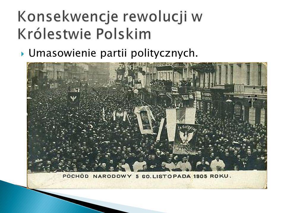  Umasowienie partii politycznych.