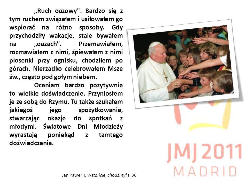 Rekolekcje III stopnia we wrześniu 2010, jako przygotowanie do ŚDM; Ewangelizacja w kilku diecezjach równocześnie kilka tygodni przed Madrytem połączona z zaangażowaniem w tamtych diecezjach w animacji tzw.