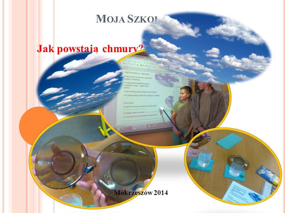 M OJA S ZKOŁA Mokrzeszów 2014 Jak powstają chmury
