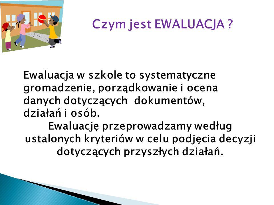Czym jest EWALUACJA .