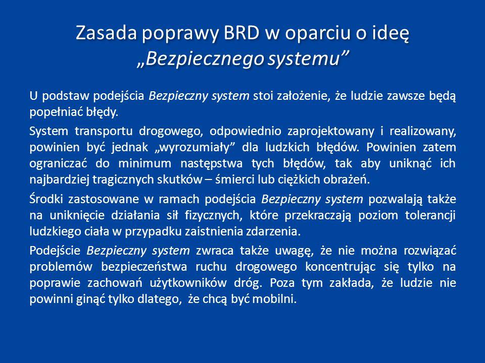 Wizja Program na lata 2013‐2020 kontynuuje dalekosiężną Wizję ZERO przyjętą w poprzednich krajowych programach bezpieczeństwa ruchu drogowego.
