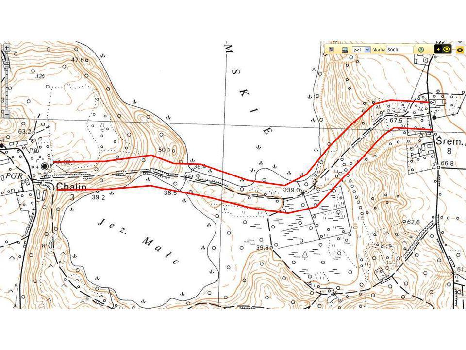 Ocena struktury krajobrazu – odcinek Chalin-Śrem