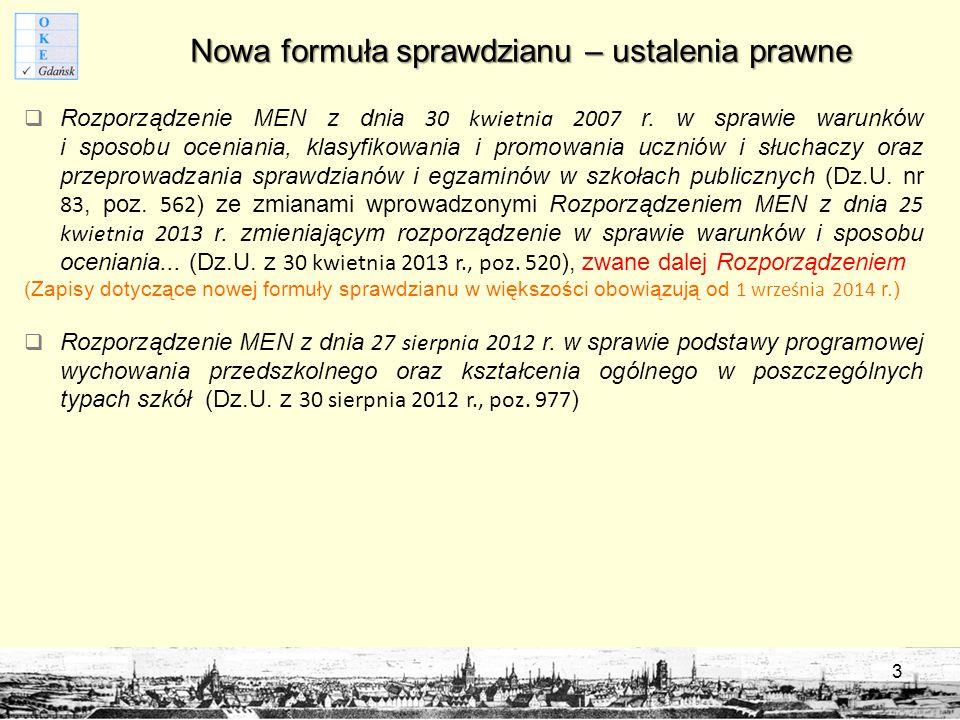 Wymagania ogólne z podstawy programowej 14 JĘZYK POLSKI I.