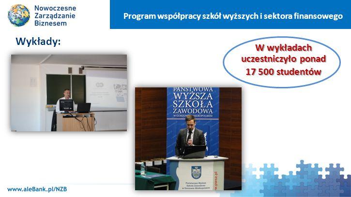 Program współpracy szkół wyższych i sektora finansowego Promocja programu przez uczelnie