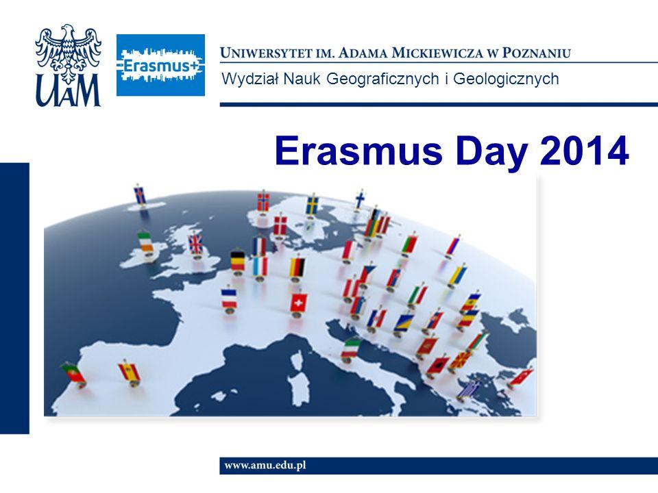 Wydział Nauk Geograficznych i Geologicznych Erasmus Day 2014