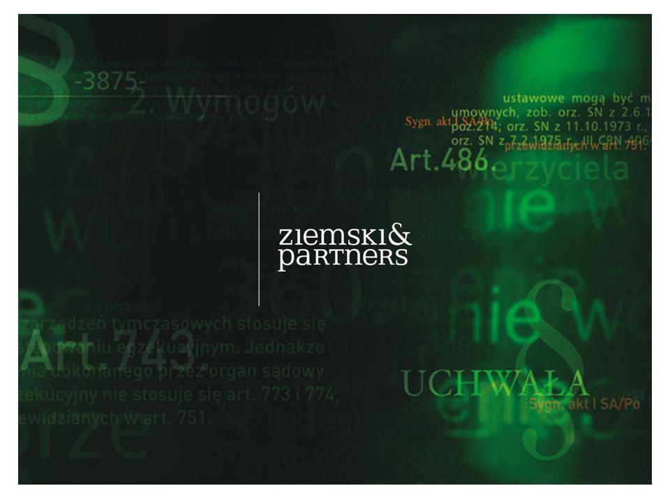 Dr Krystian Ziemski & Partners Kancelaria Prawna sp.
