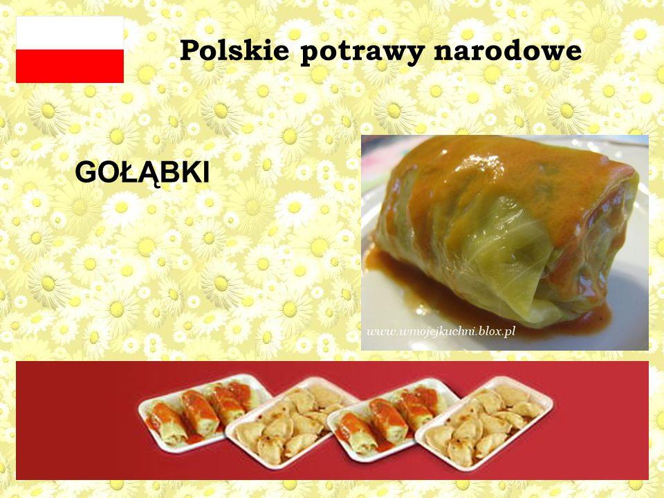 Polskie potrawy narodowe GOŁĄBKI