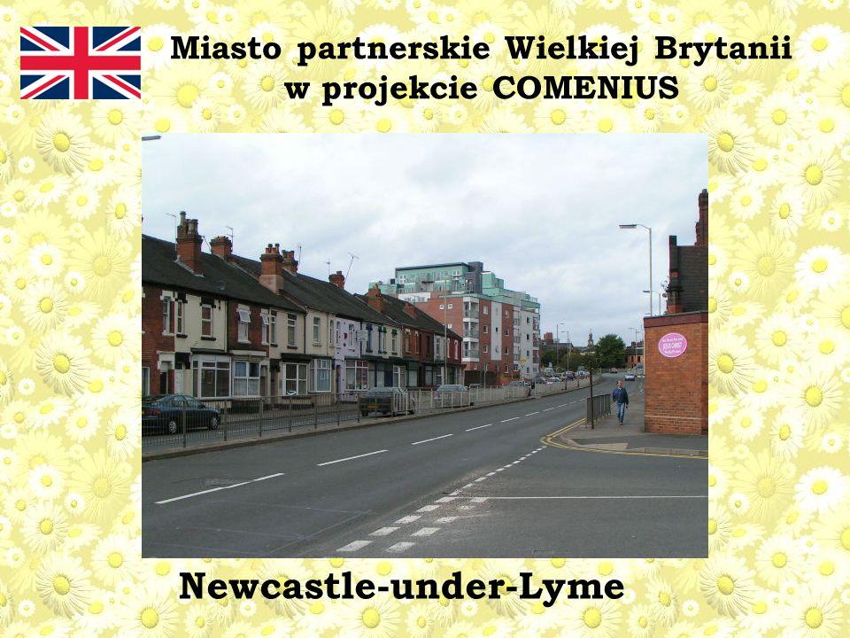 Miasto partnerskie Wielkiej Brytanii w projekcie COMENIUS Newcastle-under-Lyme