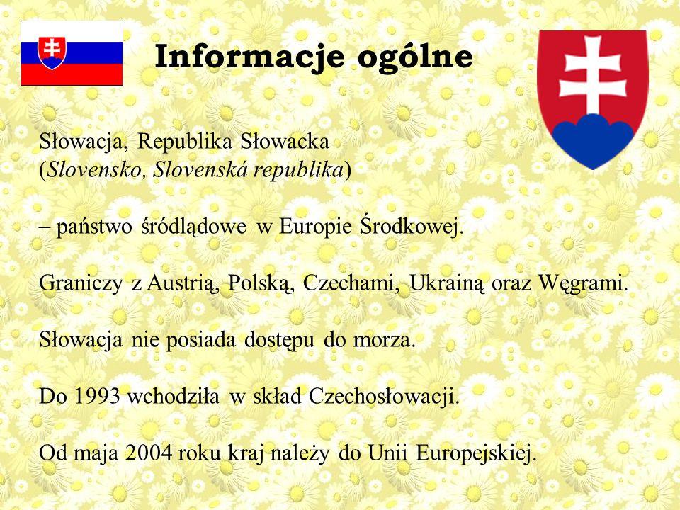 Słowacja, Republika Słowacka (Slovensko, Slovenská republika) – państwo śródlądowe w Europie Środkowej.