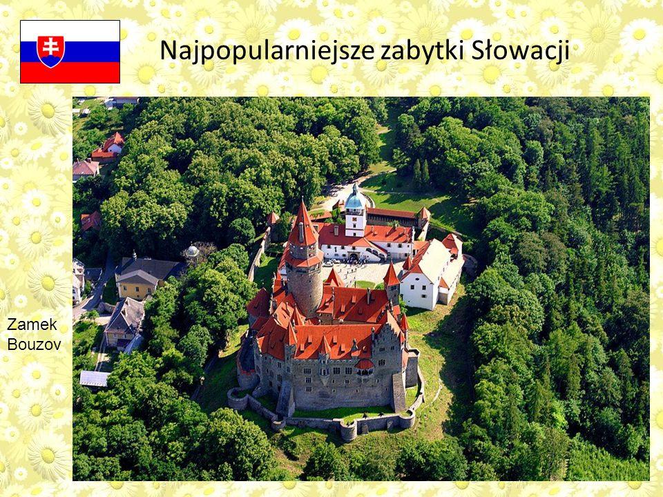 Najpopularniejsze zabytki Słowacji Zamek Bouzov