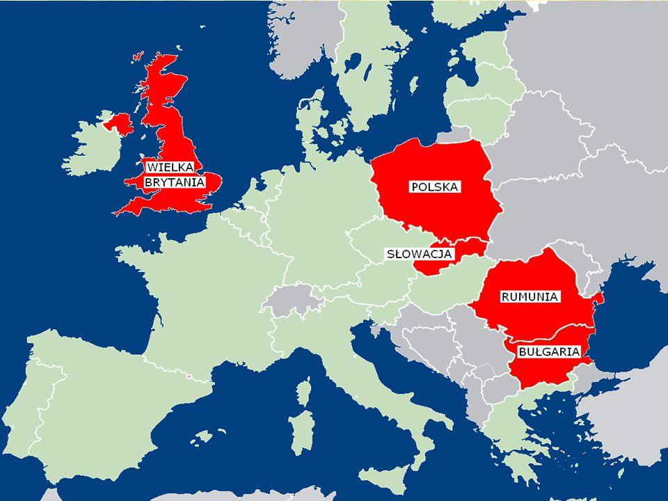 Prezentacja państw biorących udział w projekcie COMENIUS