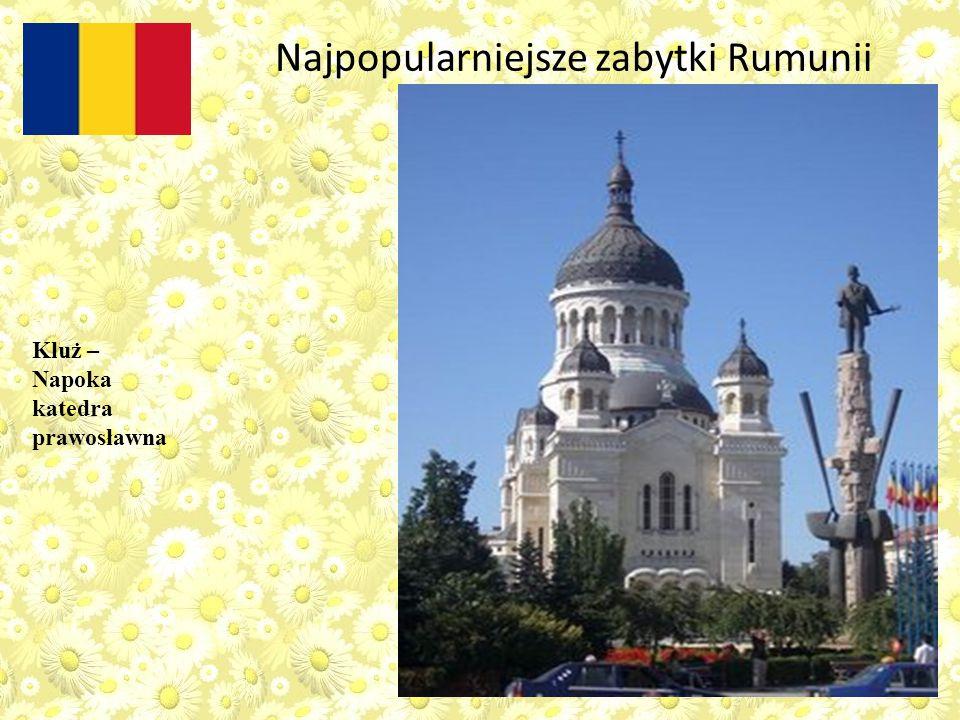 Kluż – Napoka katedra prawosławna Najpopularniejsze zabytki Rumunii