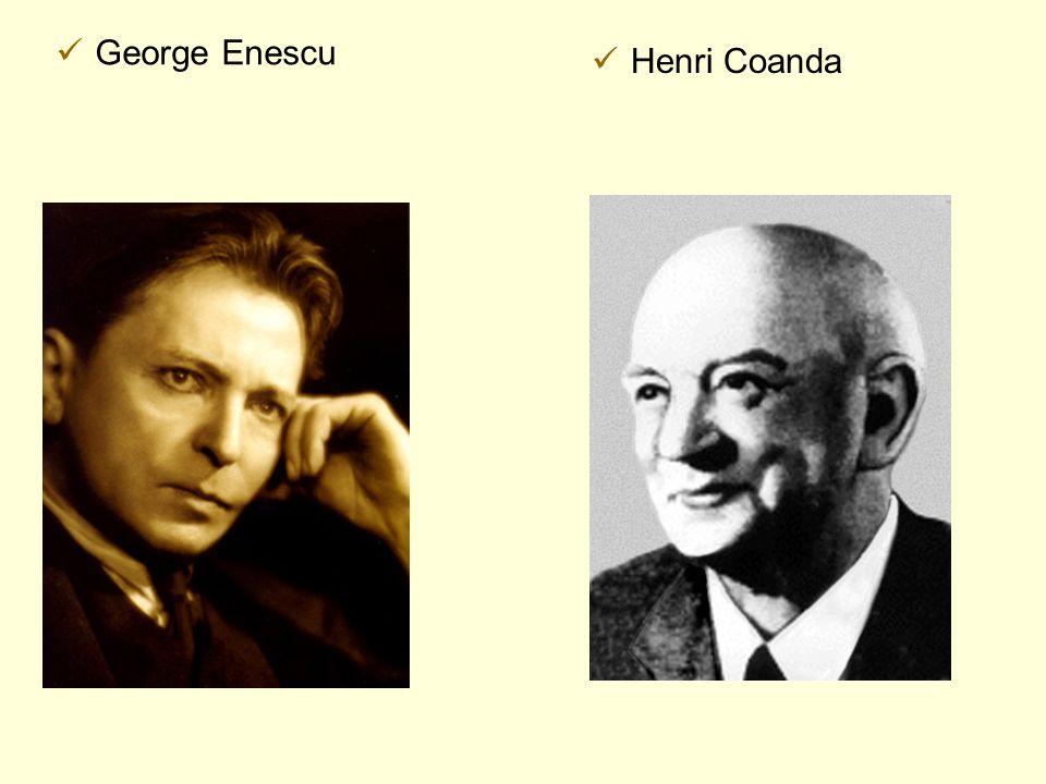George Enescu Henri Coanda
