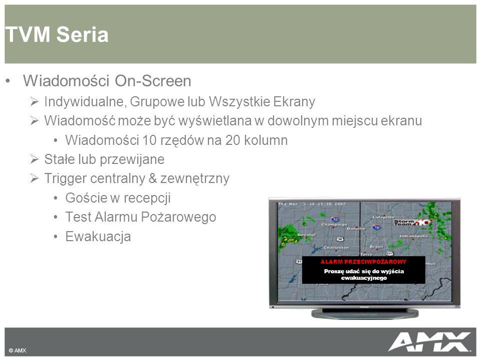 Wiadomości On-Screen  Indywidualne, Grupowe lub Wszystkie Ekrany  Wiadomość może być wyświetlana w dowolnym miejscu ekranu Wiadomości 10 rzędów na 2