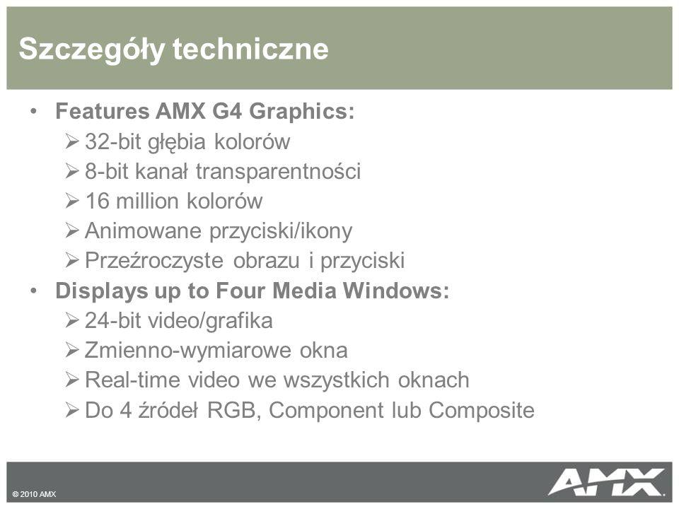 UDM Applications © 2010 AMX