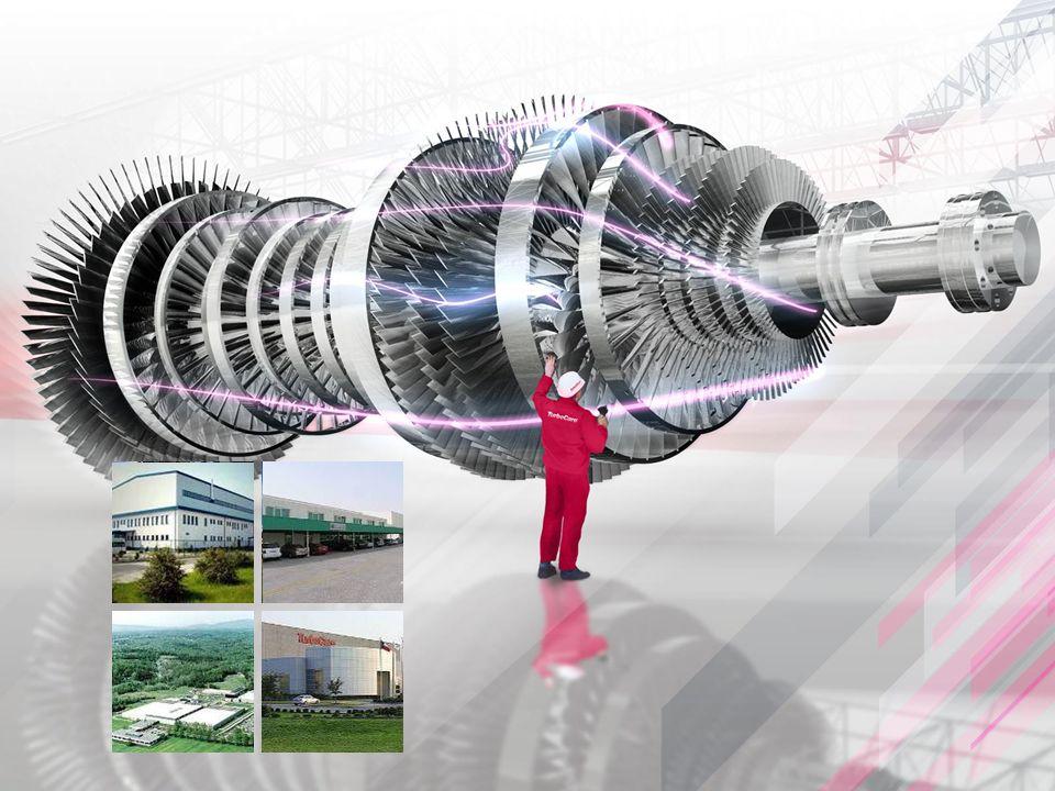  Oferuje usługi w zakresie remontów turbin o małej i dużej mocy oraz urządzeń pomocniczych  Nowoczesny warsztat o powierzchni użytkowej ponad 2400 m2 m2 jest w pełni wyposażony w maszyny stacjonarne i mobilne do obróbki mechanicznej