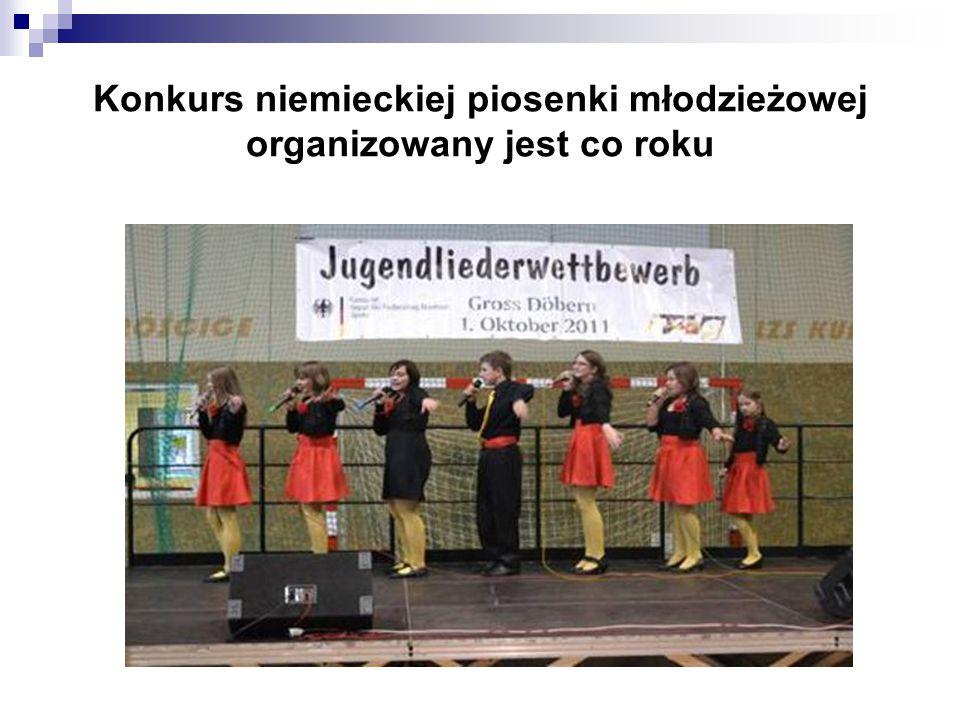 Konkurs niemieckiej piosenki młodzieżowej organizowany jest co roku
