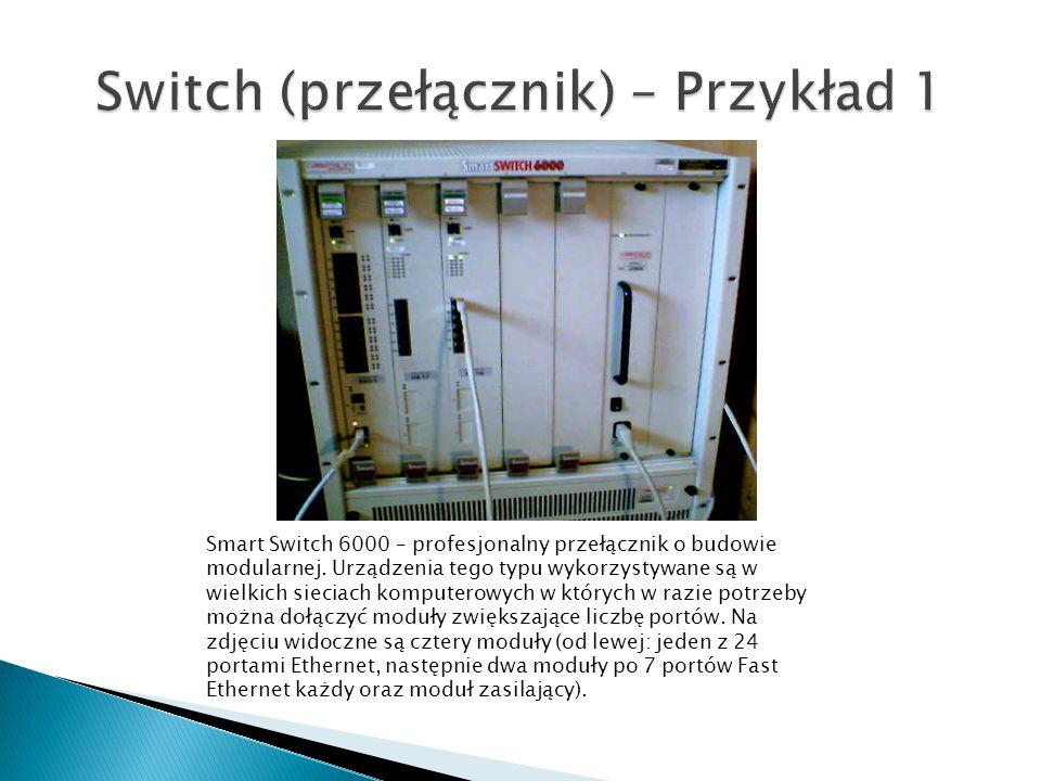 Smart Switch 6000 – profesjonalny przełącznik o budowie modularnej.
