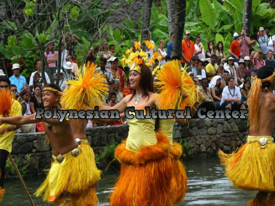 Polynesian Cultural Center is a theme park or as some call them