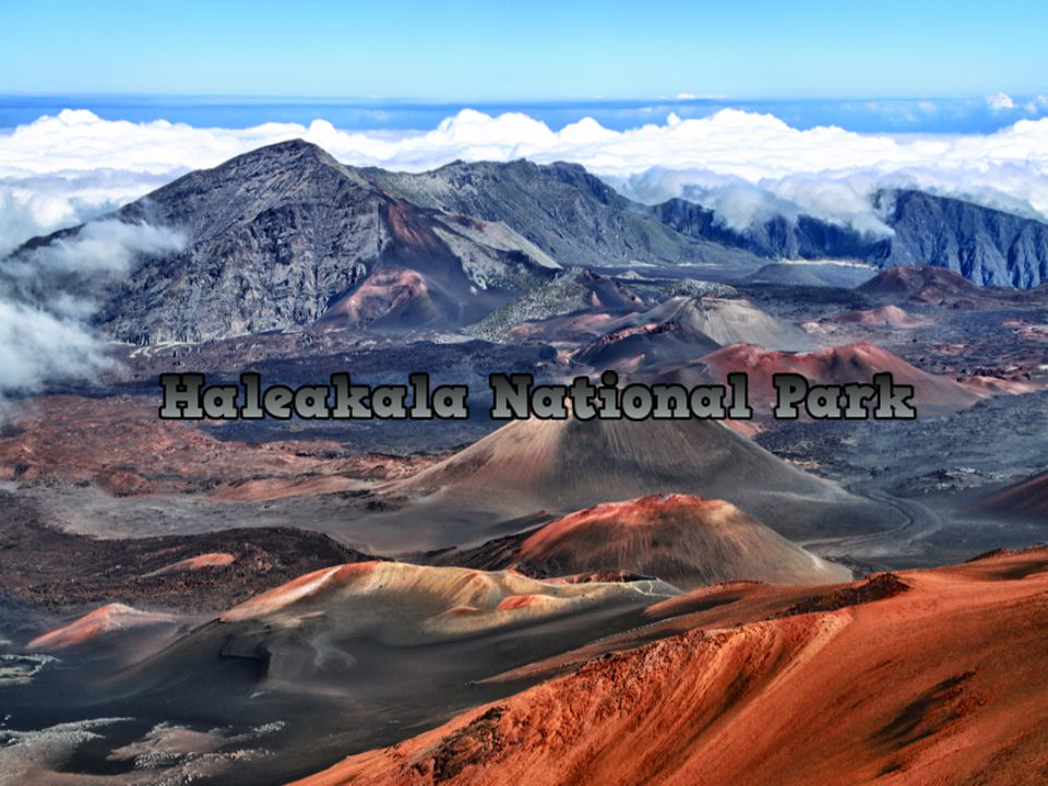 Haleakala National Park, located on the island of Maui, was originally part of Hawaii Volcanoes National Park, but it was finally separated. Extends t