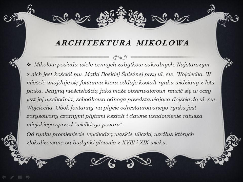 Architektura Mikołowa