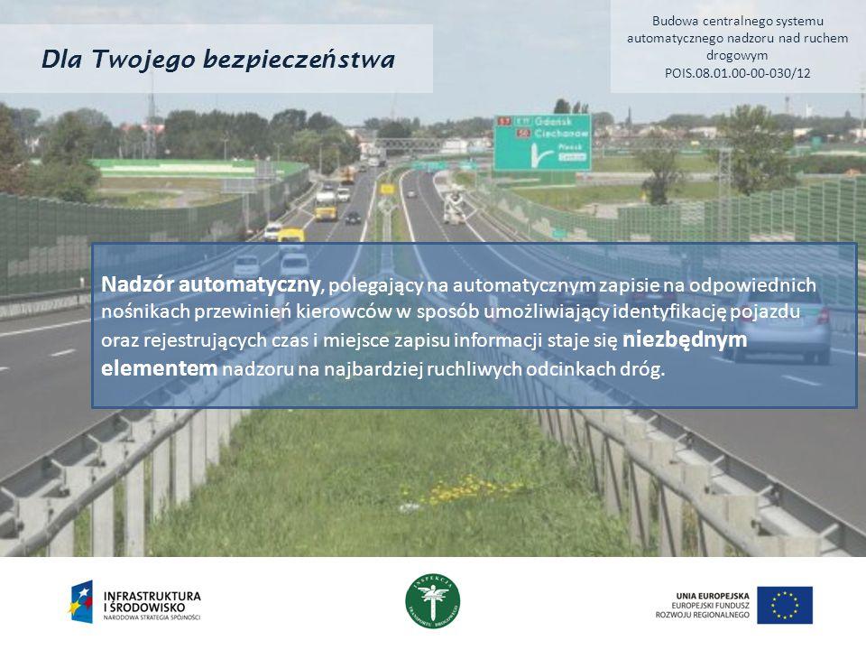 Dla Twojego bezpiecze ń stwa Zastosowane działania powodujące zarządzanie prędkością zmniejszyły liczbę ofiar śmiertelnych wypadków drogowych o 832 w 2013 roku w porównaniu z 2011 rokiem.