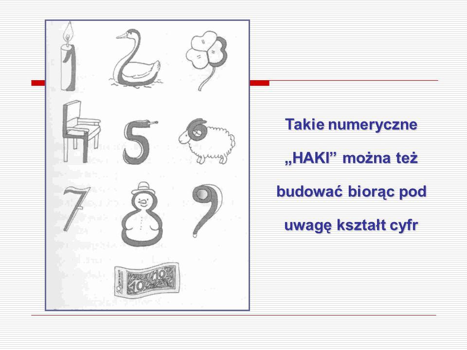 """Takie numeryczne """"HAKI"""" można też budować biorąc pod uwagę kształt cyfr"""