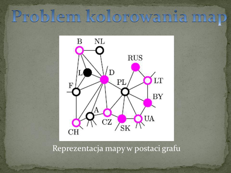 Reprezentacja mapy w postaci grafu
