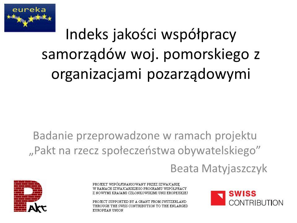 Indeks jakości współpracy samorządów woj.