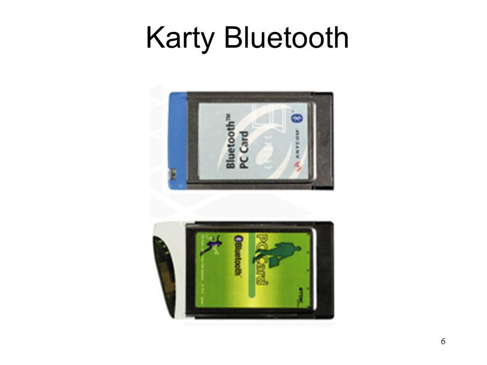 6 Karty Bluetooth