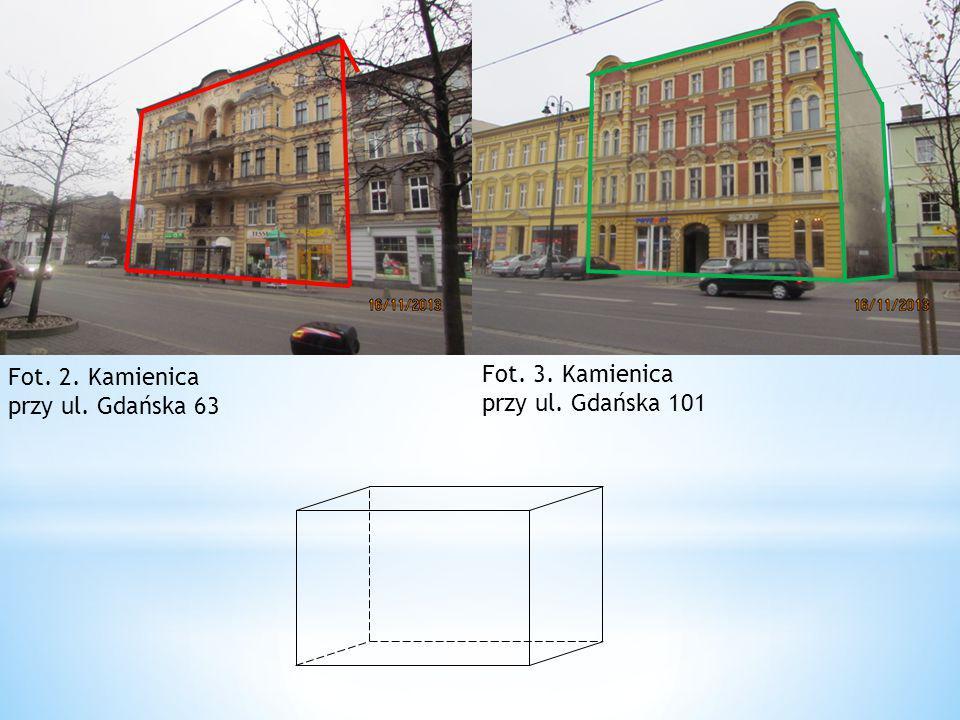 Fot. 3. Kamienica przy ul. Gdańska 101 Fot. 2. Kamienica przy ul. Gdańska 63