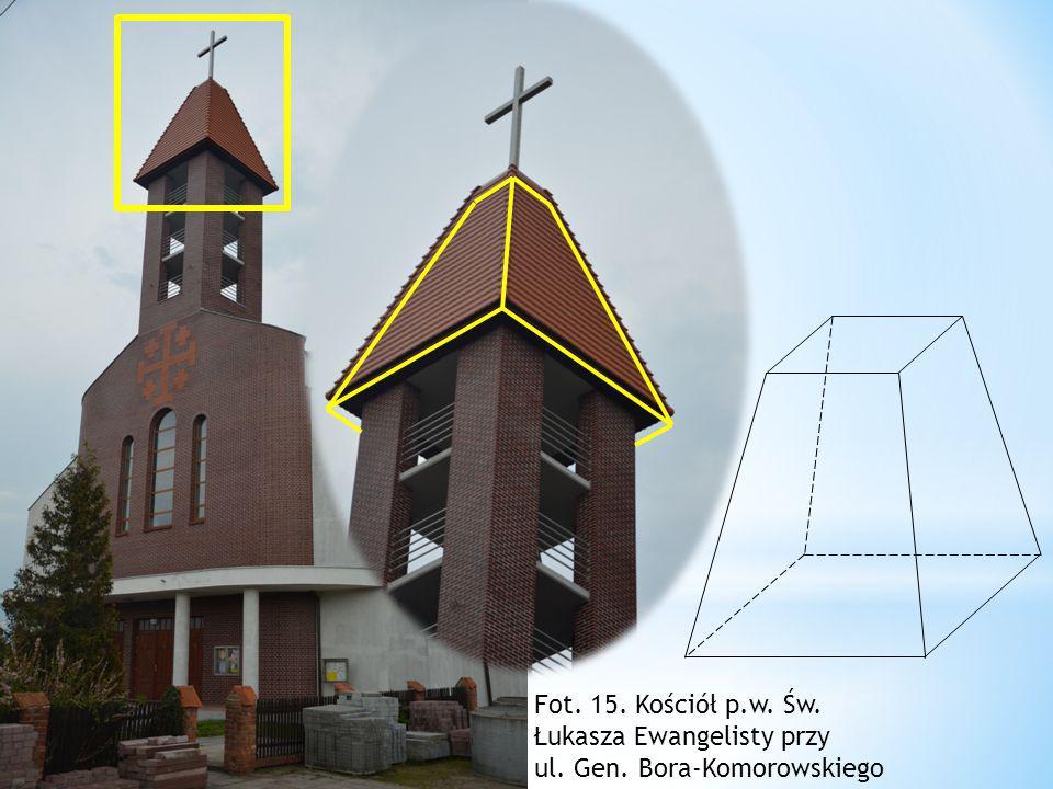 Fot. 15. Kościół p.w. Św. Łukasza Ewangelisty przy ul. Gen. Bora-Komorowskiego