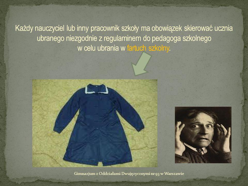Gimnazjum z Oddziałami Dwujęzycznymi nr 93 w Warszawie