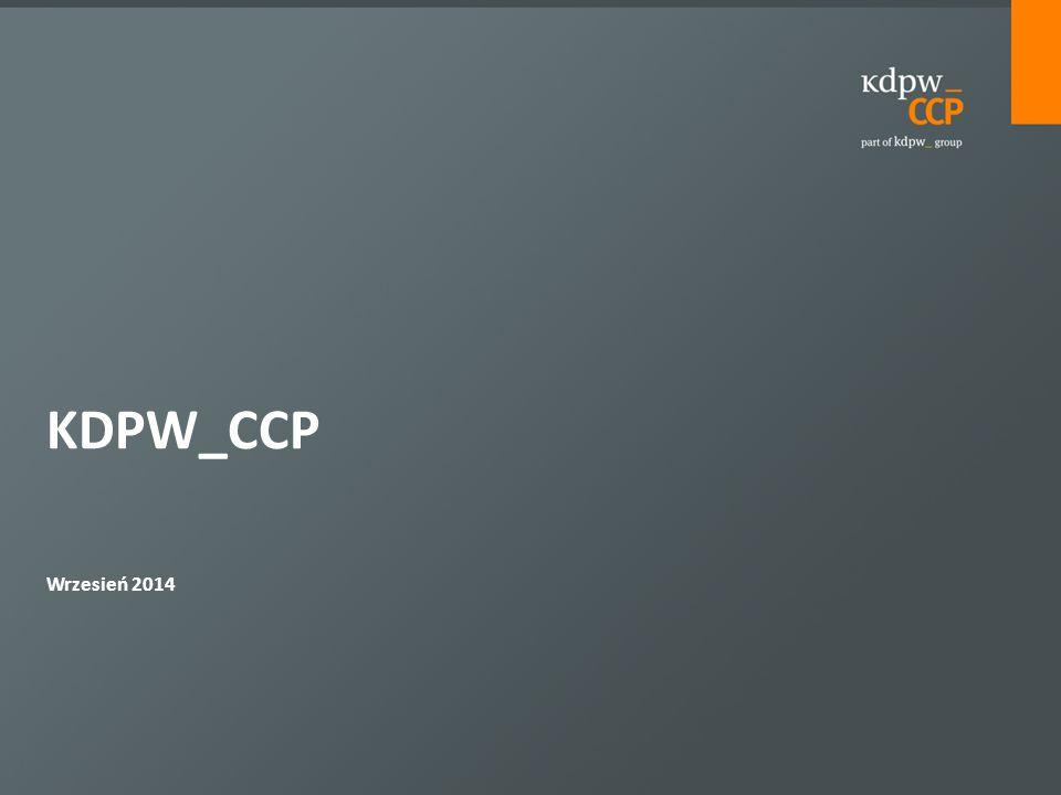  FRA  IRS  OIS  Basis Swaps  REPO  KDPW_CCP pracuje nad wprowadzenie instrumentów denominowanych w EUR i innych walutach.