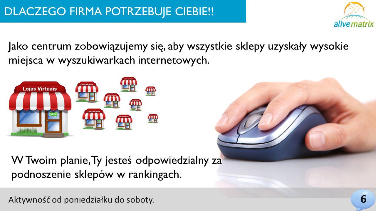 DLACZEGO FIRMA POTRZEBUJE CIEBIE!.