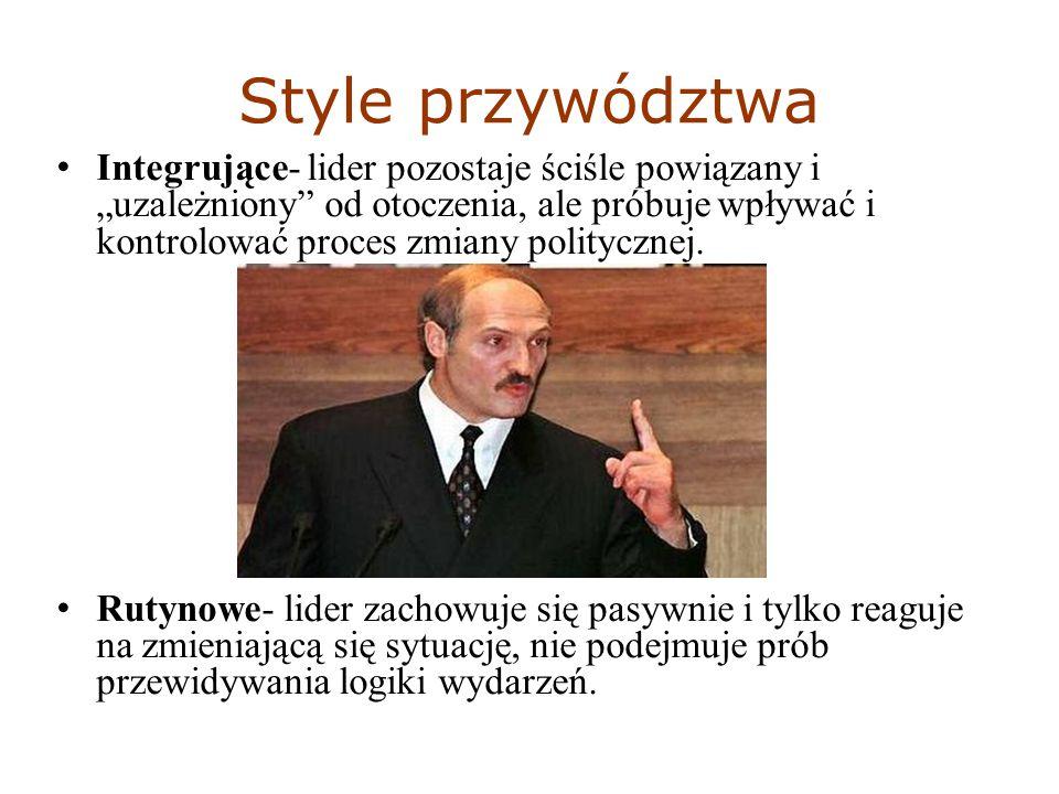 BIBLIOGRAFIA- strony internetowe http://www.egospodarka.pl/37631,Jakie-sa-cechy-dobrego- lidera,1,20,2.html (08.11.2011) http://www.elstudento.org/articles.php?article_id=600 (08.11.2011) http://pl.wikipedia.org/wiki/S%C5%82u%C5%BCba_Bezpiecze%C5% 84stwa_%28PRL%29 (08.11.2011) http://pl.wikipedia.org/wiki/Struktura_przyw%C3%B3dztwa (08.11.2011) http://pl.wikipedia.org/wiki/Elita (08.11.2011)