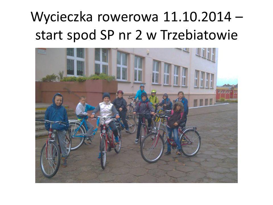 Wycieczka rowerowa 11.10.2014 – start spod SP nr 2 w Trzebiatowie