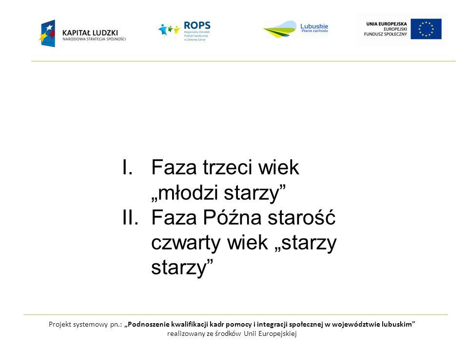 """Projekt systemowy pn.: """"Podnoszenie kwalifikacji kadr pomocy i integracji społecznej w województwie lubuskim realizowany ze środków Unii Europejskiej Przewiduje się, że liczba mieszkańców województwa lubuskiego w 2015 r."""