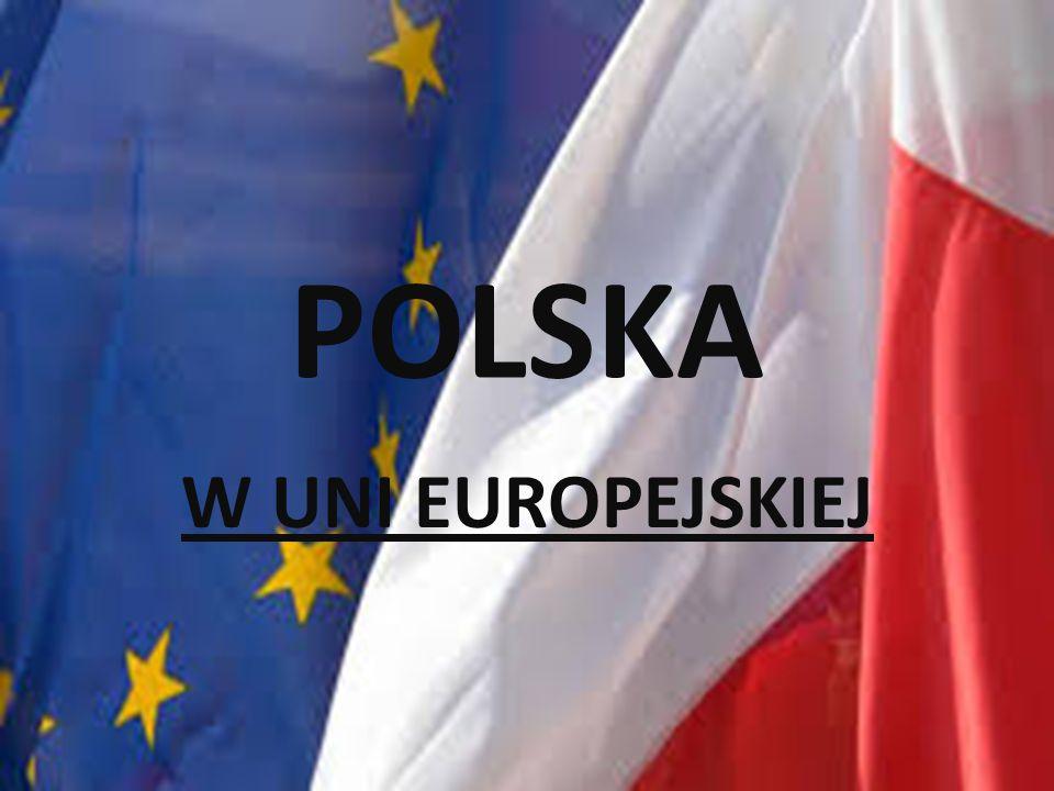 Polska- 1maja2004r. start w unii europejskiej