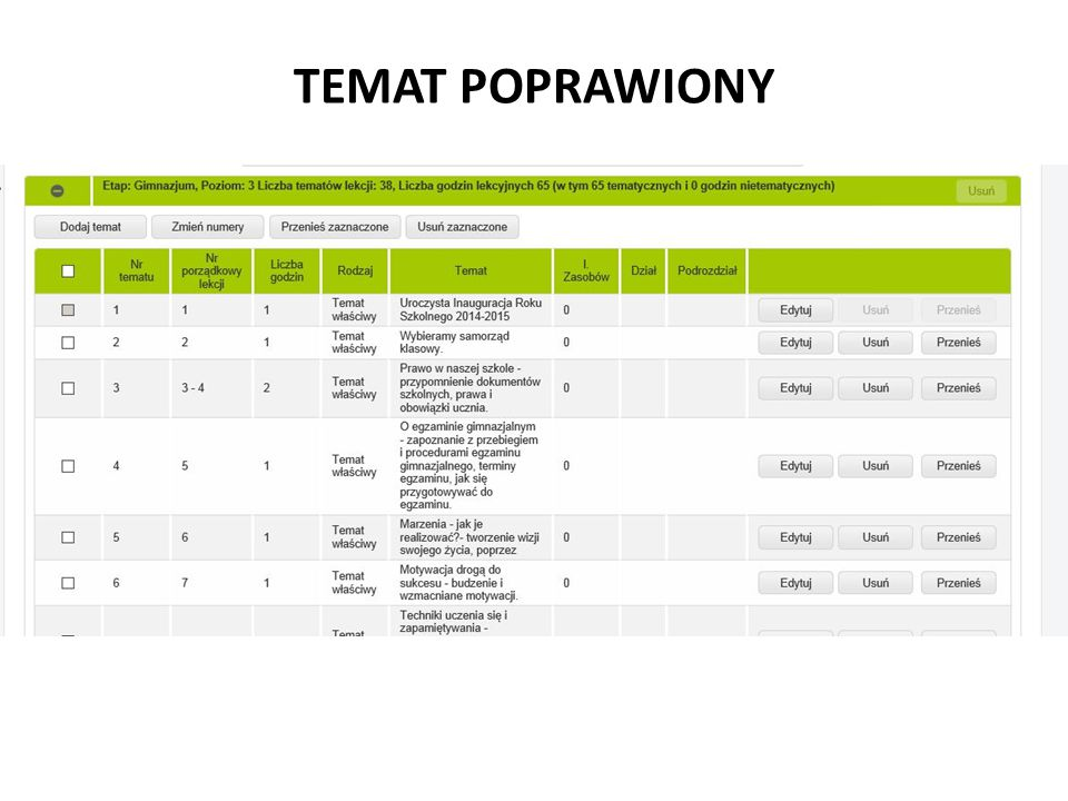 TEMAT POPRAWIONY